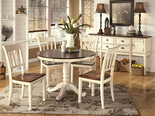 Whitesburg Round Dining Set