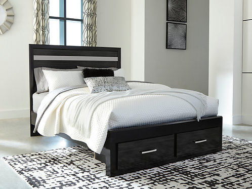 Starberry Black Storage Queen Bed