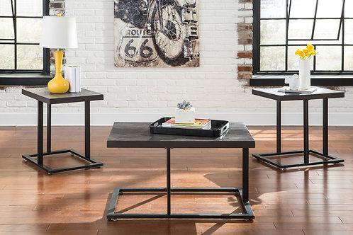 Airdon Bronze 3-in-1 Table Set
