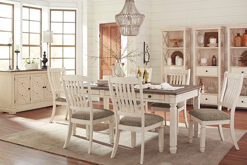 Bolanburg Dining Table & 6 Chairs