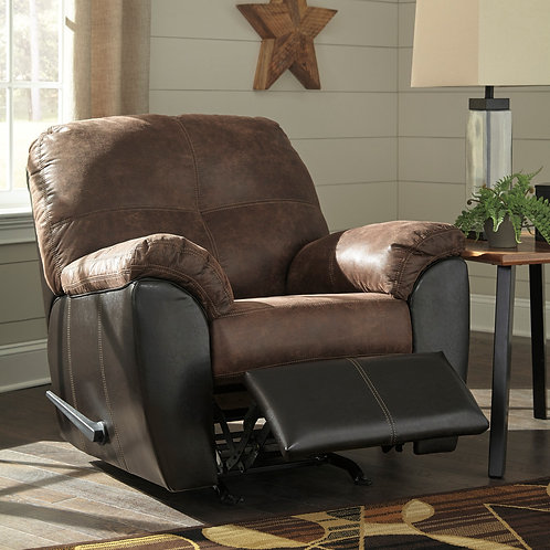 Gregale Coffee Rocker Recliner