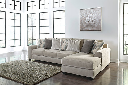 Ardsley Pewter 2-Piece Sectional