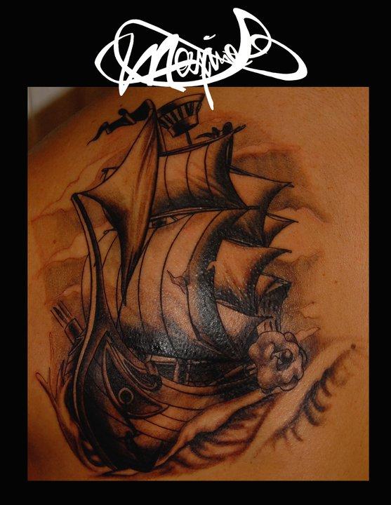 tattoo-ship-bateau-maxime lanouette
