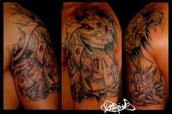 oriental-tattoo-mask-maxime lanouette