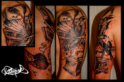 tattoo-gramophone