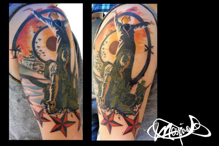 army-feminisme-tattoo-maxime lanouette