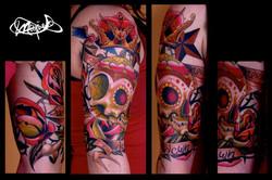 sugar skull-tattoo-maxime lanouette