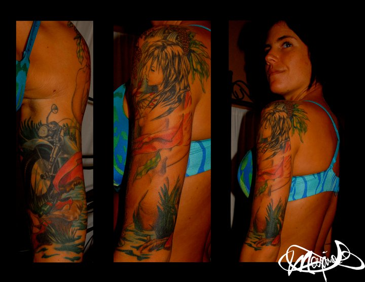 women-tattoo-sleeve-tatouage-maxime lanouette
