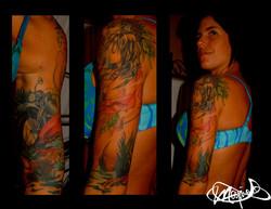 women-tattoo-sleeve-tatouage-maxime lanouette