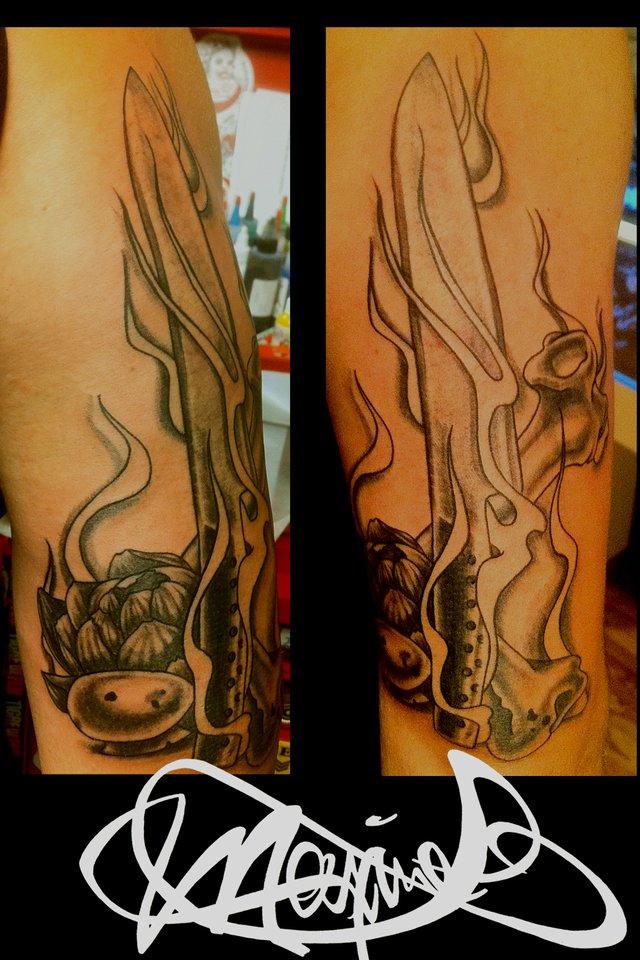 cook-knife-tattoo-couteau-cuisinier-tatouage-maxime lanouette