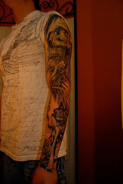 tattoo-sleeve-skull-angel-maxime lanouette