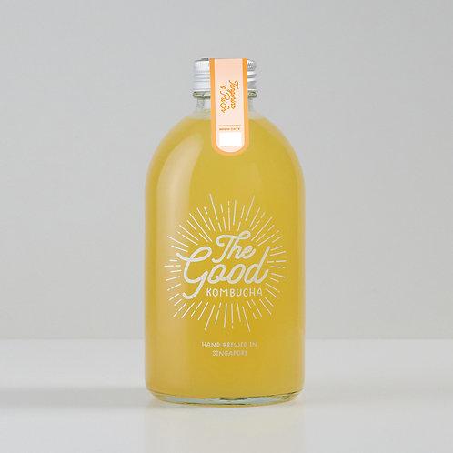 Tangerine & Pu'er Tea Infused Kombucha (375ml)
