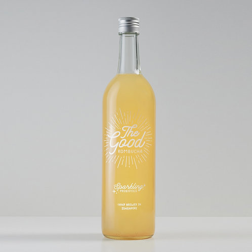 Pineapple & Osmanthus Flower Infused Kombucha (750ml)