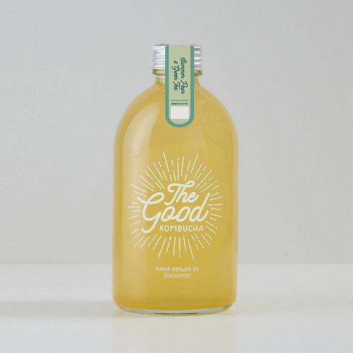 Summer Pear & Green Tea Infused Kombucha (375ml)