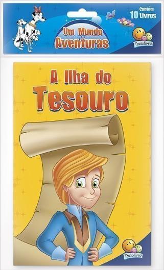 UM MUNDO DE AVENTURAS(ECO)-KIT C/10 UND.(I)