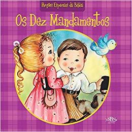 PORCOES ESPECIAIS DA BIBLIA(EDC.LUXO 30X30): DEZ MANDAMENTOS