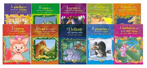 Coleção SENTIMENTOS 10 livros