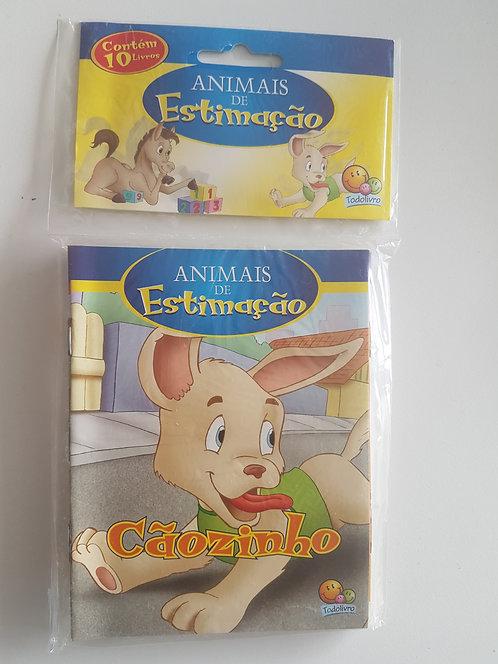 Mini Livros ANIMAIS DE ESTIMACAO(ECO)-KITC/10 UND.(I)
