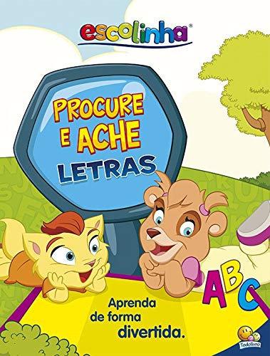 Coleção Livro+Tapete ESCOLINHA - PROCURE E ACHE