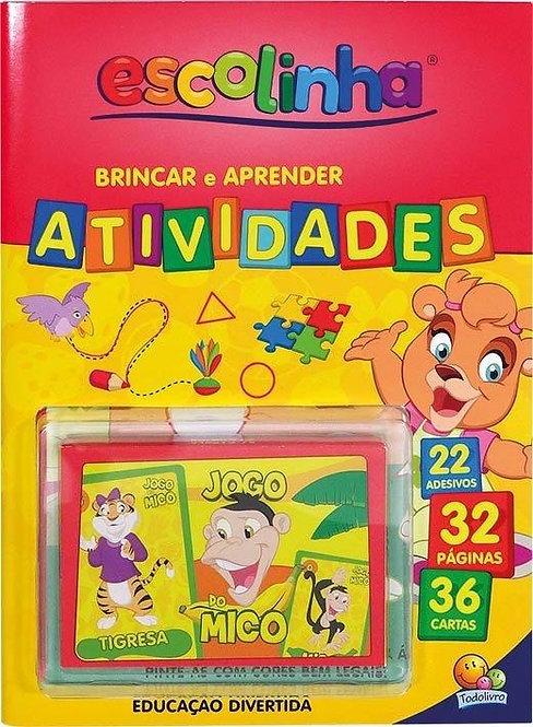 APRENDA COM CARTAS! BRINCAR E APRENDER - ATIVIDADES