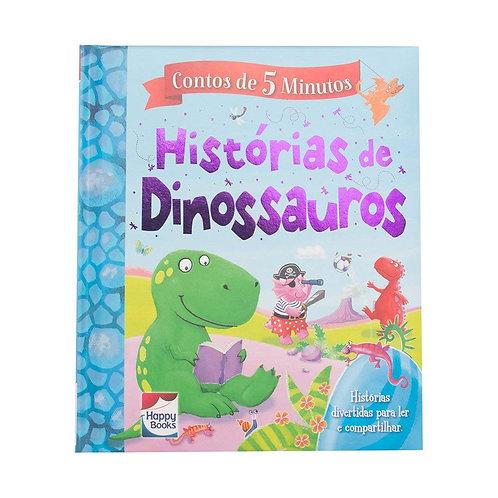 CONTOS DE 5 MINUTOS: HISTORIAS DE DINOSSAUROS