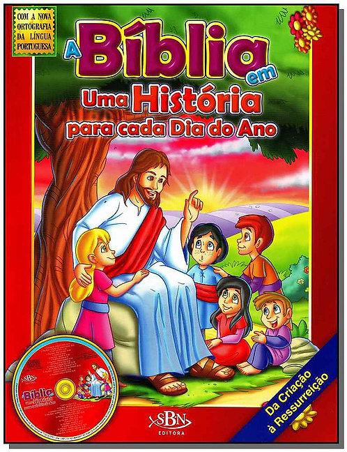 A BIBLIA EM UMA HIST.P/CADA DIA DO ANO