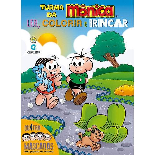 TURMA DA MONICA - MASCARAS DIVERTIDAS