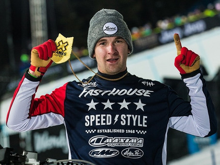 Logan Mead takes the Gold at H-D Winter X-Games Snow Hillclimb
