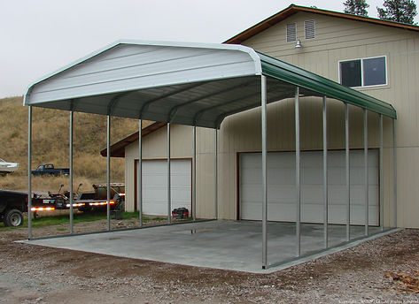 Double Wide Carports