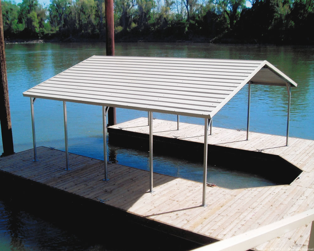 Boat Dock Cover