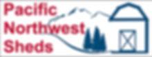 Pacific NW Sheds Logo