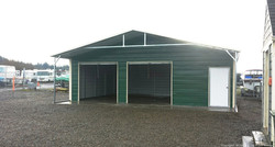 Custom Utility Carport Garage