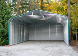 3 Sided carport