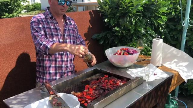 Gemüse grillen auf dem ZedExperience BBQ