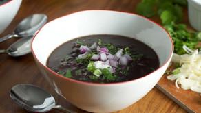 Traditional Cuban Black Bean Soup