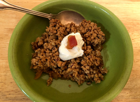 Apple Granola Crisp