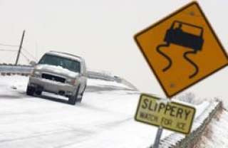 Don't go skidding my way