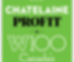 Recipient of the Chatelaine Profit W100 Canada's Top Female CEOs