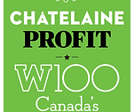 Recipient of the Chatelaine Profit W100 Canada's Top Female CEOs
