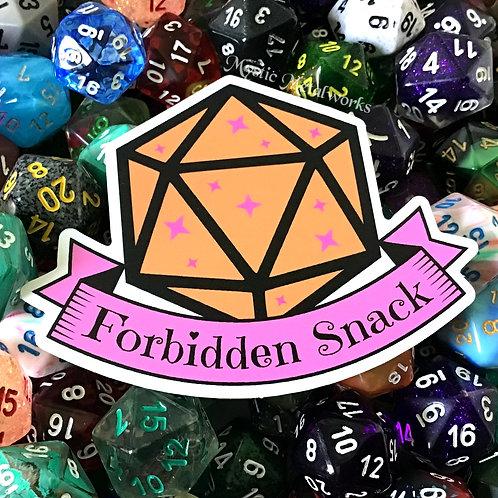 """Forbidden Snack 3"""" Sticker"""