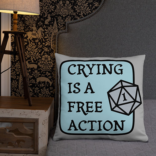 Free Action Pillow