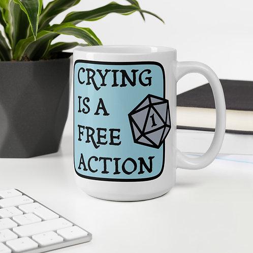 Large Free Action Mug