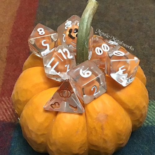 Evergreen Burrow Pumpkin Dice