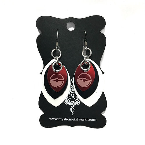 Poké Ball Earrings