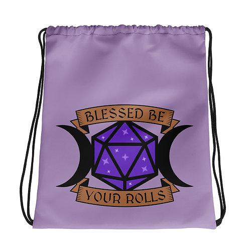 Blessed Be Drawstring Bag