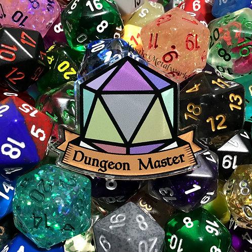 Dungeon Master Acrylic Pin