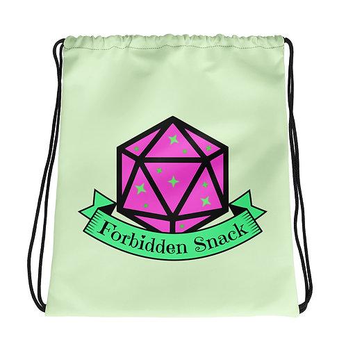 Forbidden Snack Drawstring bag