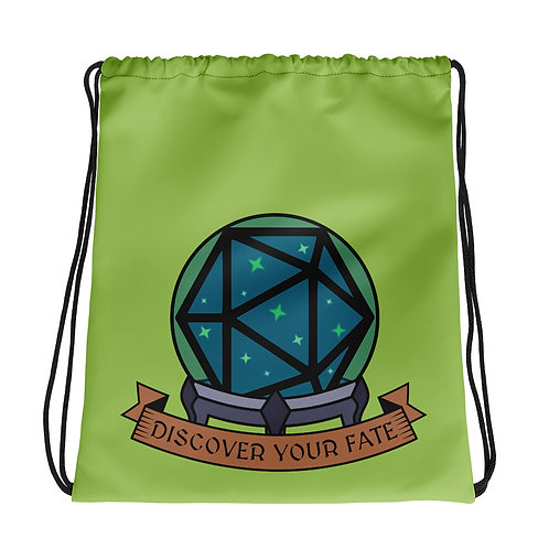 Discover Your Fate Drawstring Bag