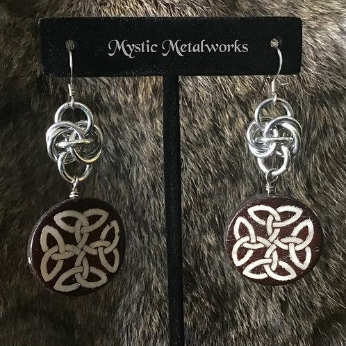 Stone & Bone Earrings
