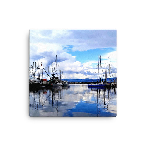 French Creek Harbour Canvas